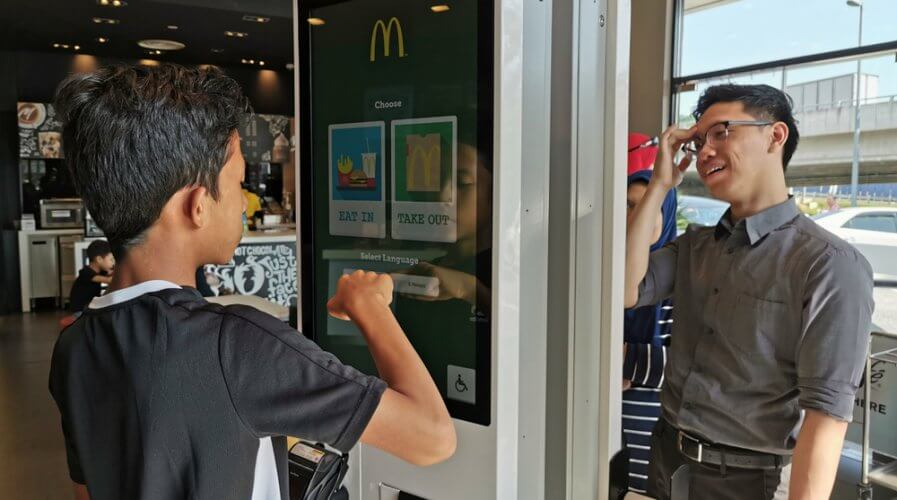 Even placing orders at McDonald's is automated these days. Source: Shutterstock
