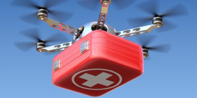 UPS' drone delivery program will deliver vital packages to hospitals. Source: Shutterstock