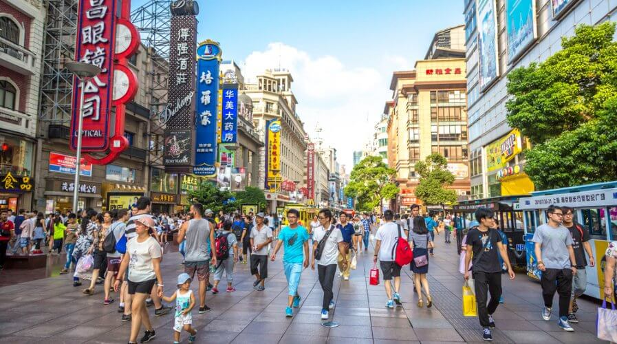 Chinese consumers are very keen users of digital financial services. Source: Shutterstock