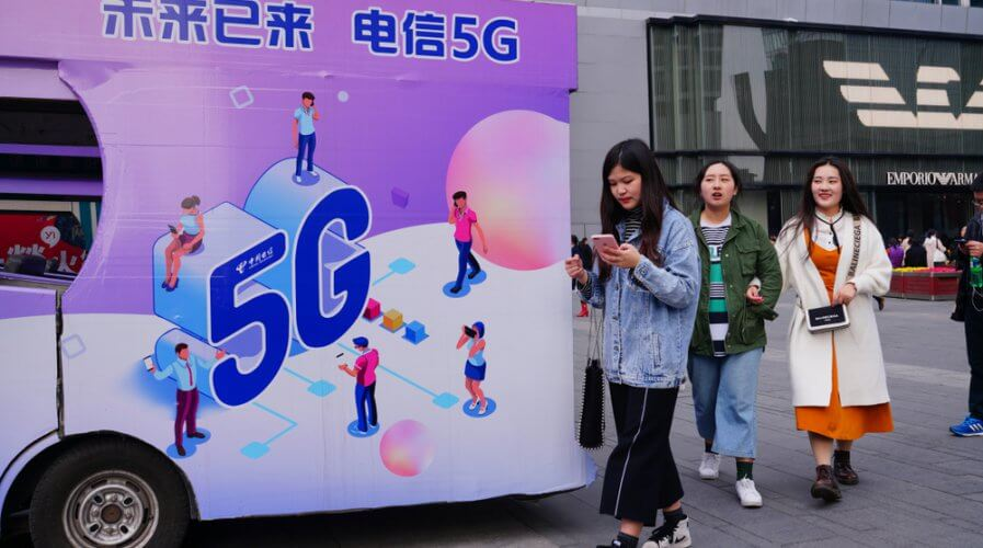 Here's how China's path to commercial 5G looks like. Source: Shutterstock