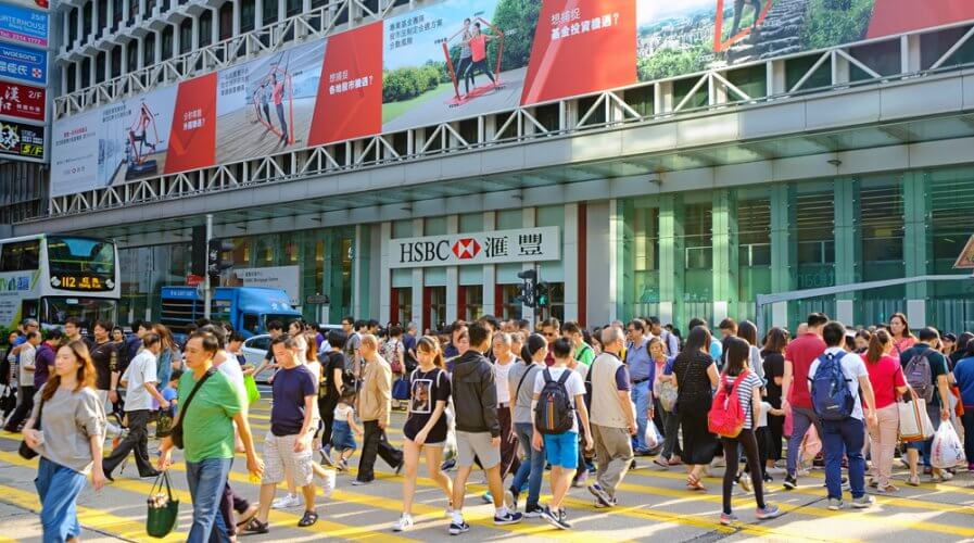 Banks in Hong Kong are using AI applications. Source: Shutterstock