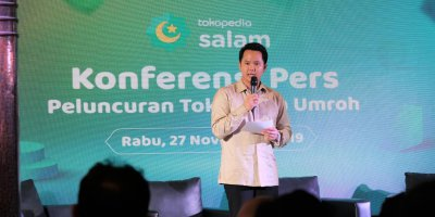 Tokopedia is one of the leading e-commerce platforms in Indonesia. Source: LinkedIn/Tokopedia