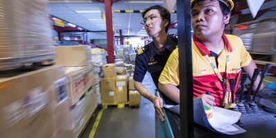 Can technology and innovation help DHL grow quickly? Source: Shutterstock