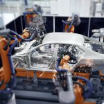 Auto manufacturing is made easier with AI. Source: Shutterstock