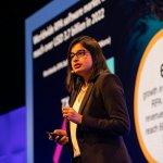 IDC's Sneha Kapoor says intelligent automation needs process re-engineering. Source: Twitter/UiPath