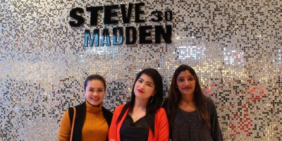 Influencers and customers at a recent Steve Madden outlet celebration. Source: Shutterstock