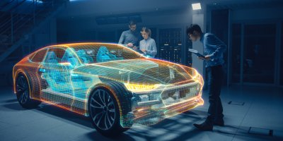 Virtual reality make Jaguar Land Rover more exciting. Source: Shutterstock