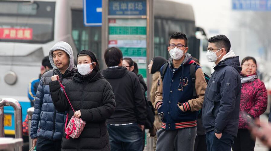 Coronavirus has caused China to up its facial recognition game. Source: Shutterstock