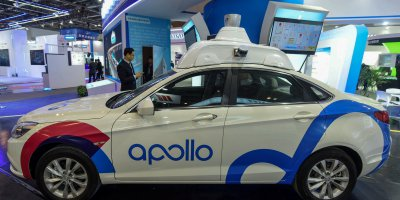 Baidu's driverless cars are a worthy competitor of Western automated vehicles. Source: AFP.