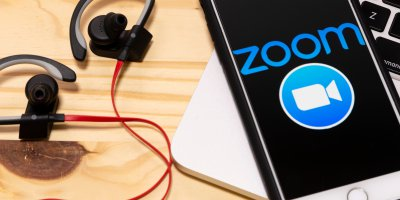 The teleconferencing tool Zoom has become an overnight sensation. Source: Shutterstock.
