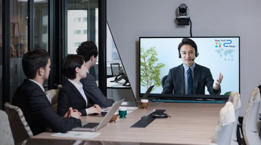 Teleconferencing apps have grown more instrumental in the past month. Source: Shutterstock