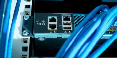 Close up Cisco 5500 Wireless Controller