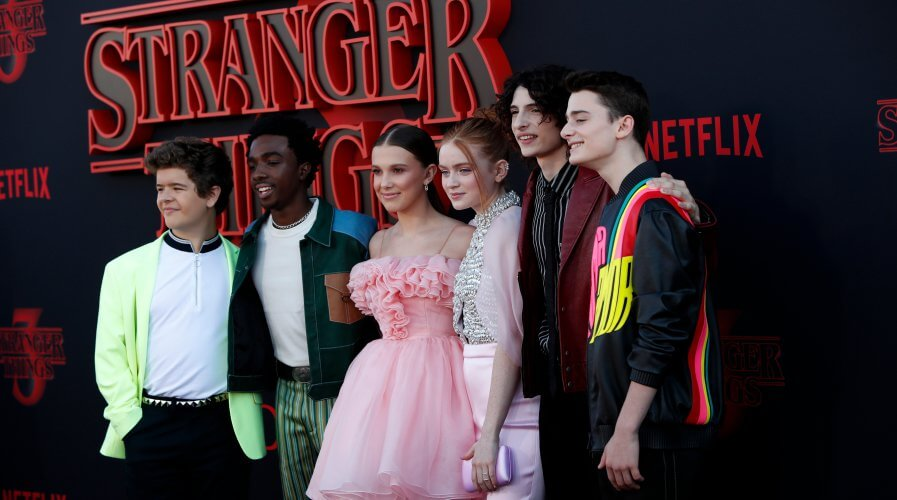 Netflix's Stranger Things is one of the most popular TV shows of all time. Source: Shutterstock