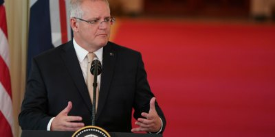 Australian PM Scott Morrison discusses cybersecurity
