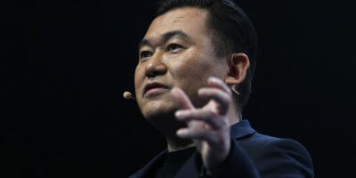 Rakuten Mobile founder and chief executive officer Mickey Mikitani