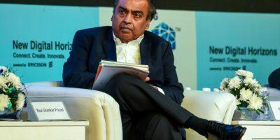 Jio Platforms' Mukesh Ambani announced the homegrown 5G solution at his company's AGM.