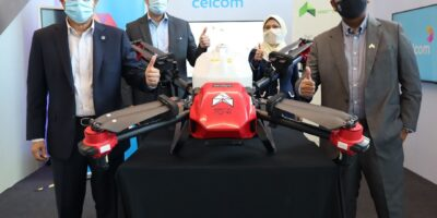 Drone maker Aerodyne and Celcom have signed an MoU to co-develop solutions for the smart city, agritech markets.