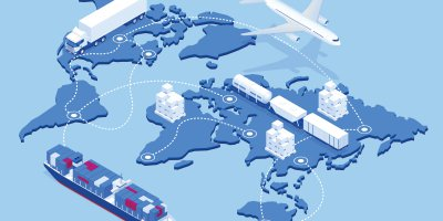 The supply chain is driven by cutting-edge tech.