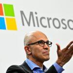 Microsoft CEO Satya Narayana Nadella, whose company is launching quantum computing training for 900 Indian lecturers