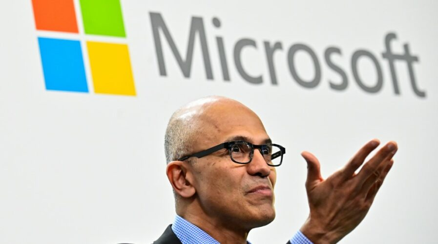 Microsoft CEO Satya Narayana Nadella, whose company is launching quantum computing training for 900 Indian lecturers