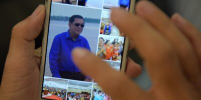 The Facebook page of Hun Sen, prime minister of Cambodia
