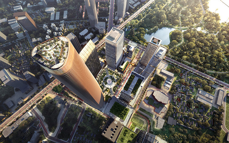 Thailand's new smart real-estate mega development, One Bangkok