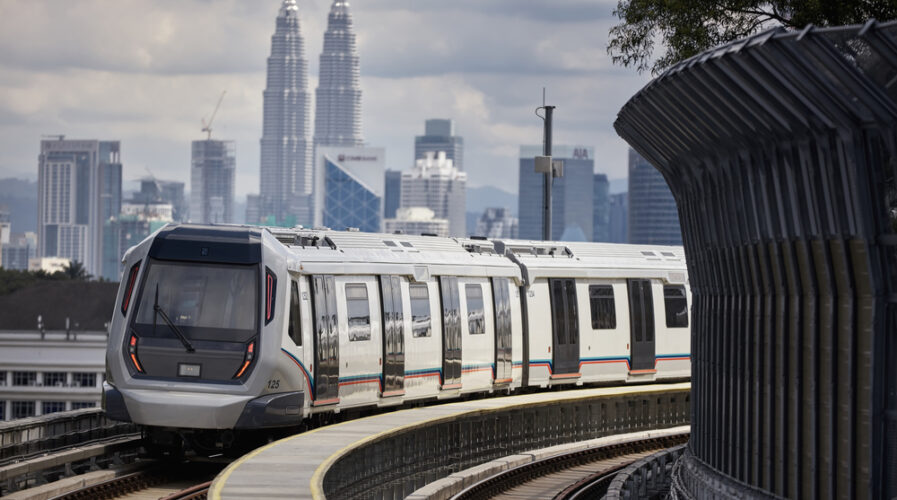 Malaysia's urban transportation woes are being alleviated by the country's MRT rail network, thanks to its cloud-ready approach