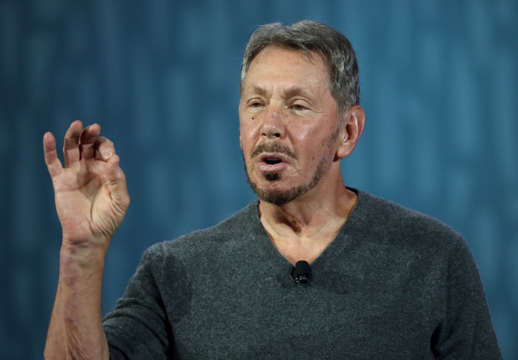 Oracle chairman Larry Ellison, just one of many parties caught in the China-US trade war