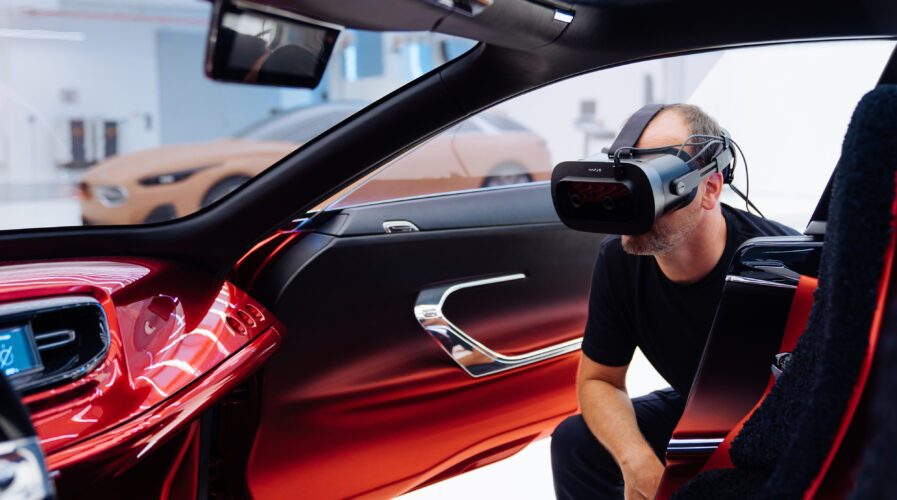 KIA uses Varjo's VR headset to not only improve its car concepts, but to collaborate with global teams too