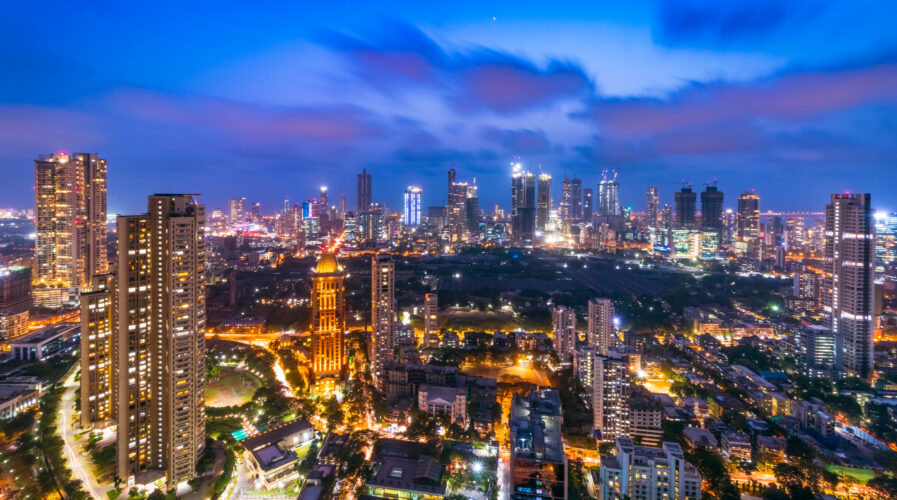 Central Mumbai's cityscape and skyline- Lalbaug-Parel, Lower Parel, Worli, Currey Road, Prabhadevi