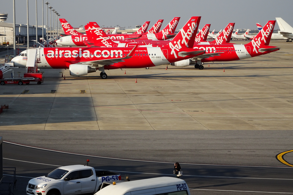 Grounded for passenger flights, 287 AirAsia aircraft were repurposed to transport air cargo using Freightchain