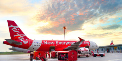 AirAsia logistic arm Teleport