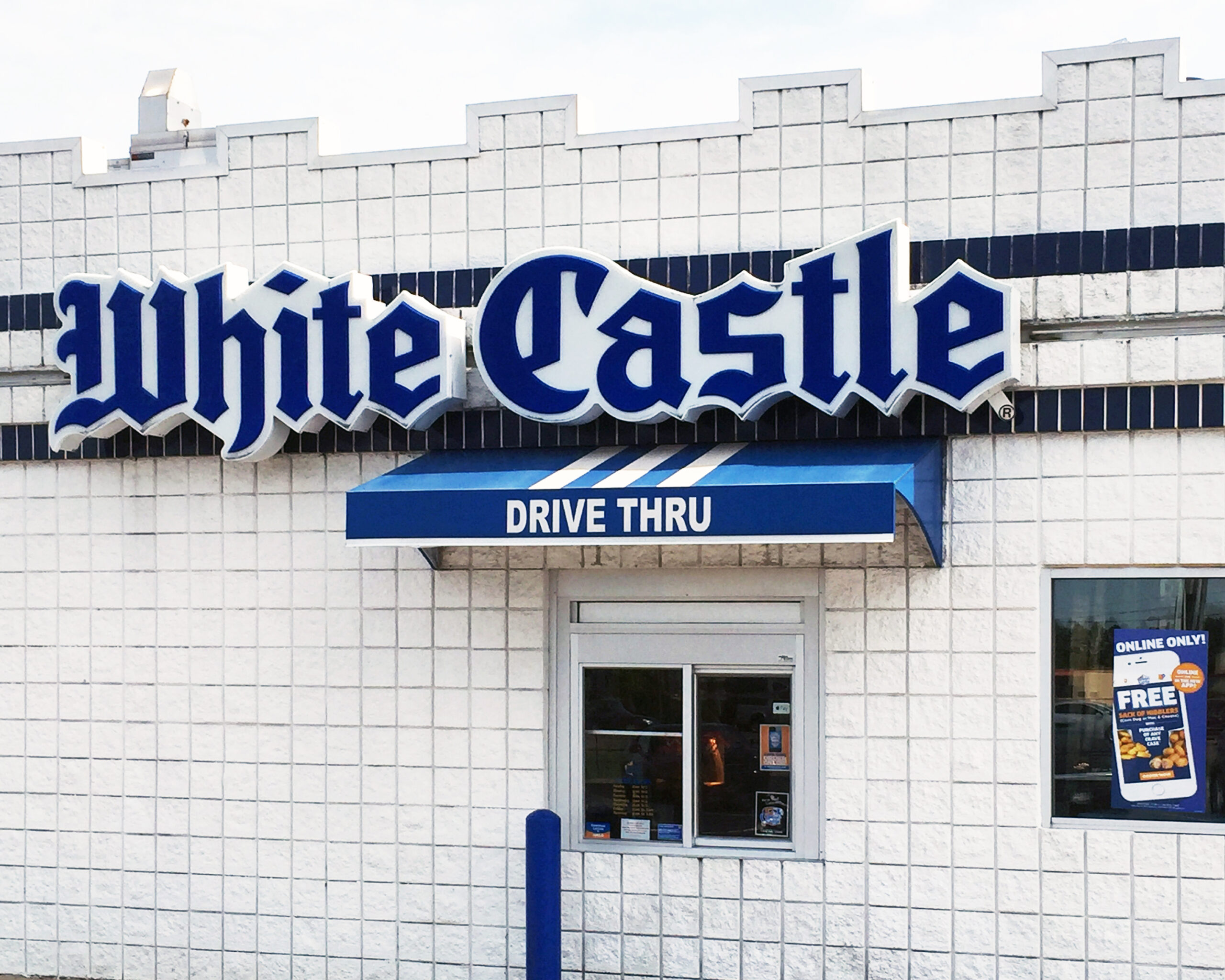 Shot of a White Castle Drive Thru