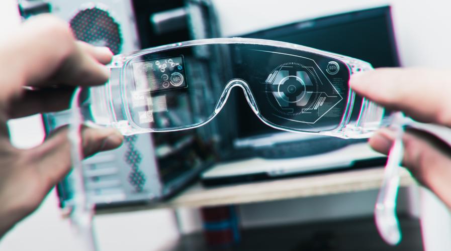 Smart glasses concept image