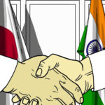 India and Japan have agreed to cooperate in a number of telecommunications and IT-related fields, including 5G and AI