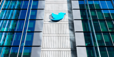 Twitter HQ campus in downtown San Francisco. Twitter is an American microblogging and social networking servic
