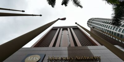 Why is Monetary Authority of Singapore giving most of its digital bank licenses to tech companies?