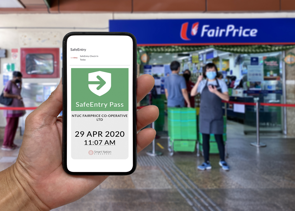 Singaporeans can now scan facial recognition to log into SingPass as well as send an SMS one-time password to another SingPass user's mobile number