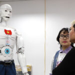 """In digitally quick Vietnam, an AI robot fitted with five """"senses"""" and Google search is being equipped to be a teaching assistant"""