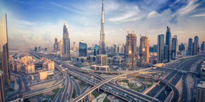 Dubai, home to millions of migrant workers who support families back home using fintech remittance services like RISE