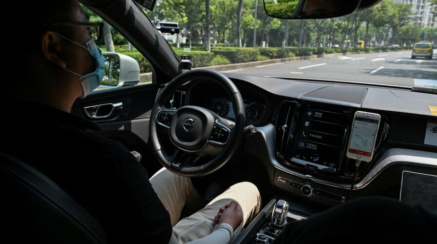 China has robot cars with the longest driverless distance.
