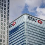 HSBC has closed branches across the UK and Asia - how can the industry deal with the rise of digital banking? (Photo by Tolga Akmen / various sources / AFP)