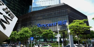 Tech giants such as Tencent have been increasingly targeted of late by the Chinese government to stomp out monopolistic practices and cybersecurity weaknesses (Photo by NOEL CELIS / AFP)