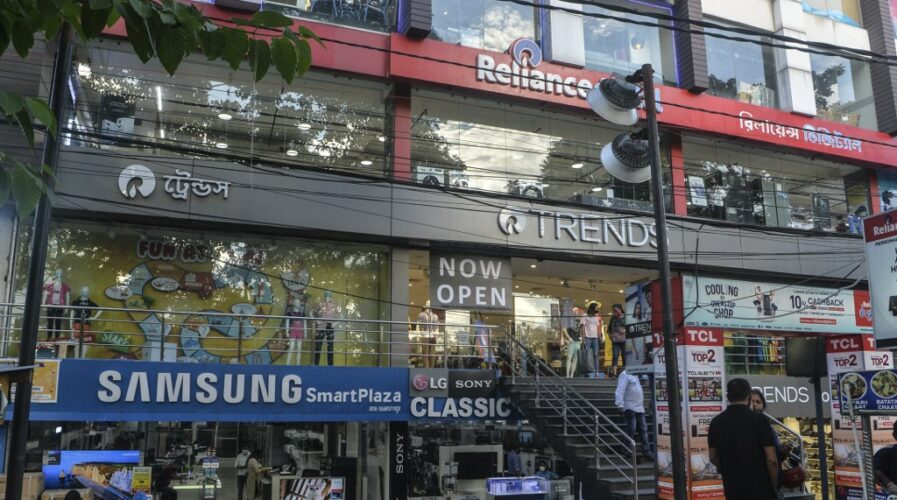 The landscape of shopping in India has changed, and while retail is not dead, retailers need to keep up with trends. (Photo by Diptendu DUTTA / AFP)