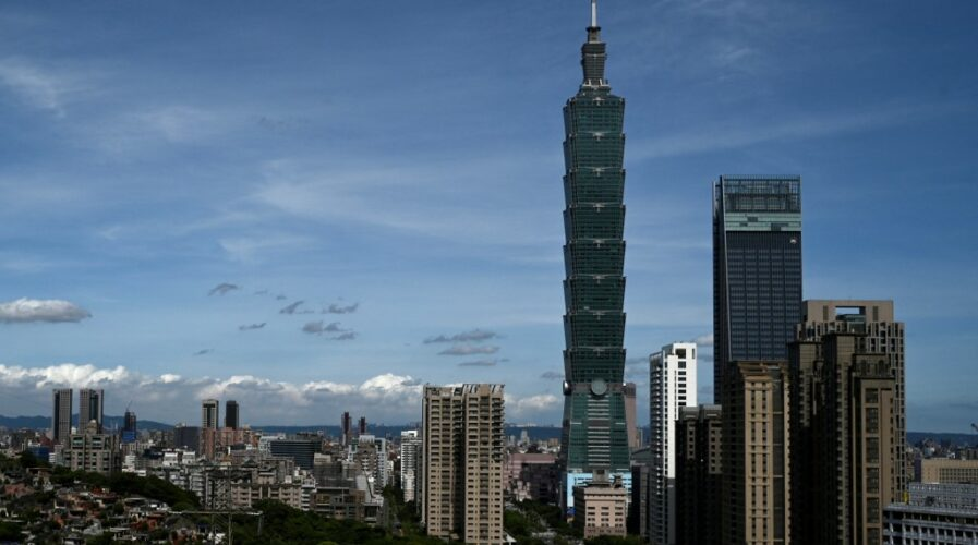 The police are investigating reports of hacked accounts owned by Taiwanese officials across the political spectrum. (Photo by Sam Yeh / AFP)
