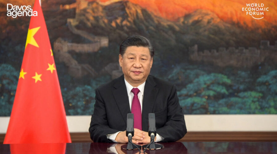 The latest in a series of crackdowns on Big Tech in China, what would it mean for the future of tech companies in China? (Photo of Premier Xi Jinping by World Economic Forum (WEF) / AFP)