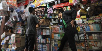 Indonesia's online grocery market rides high on the pandemic boom.