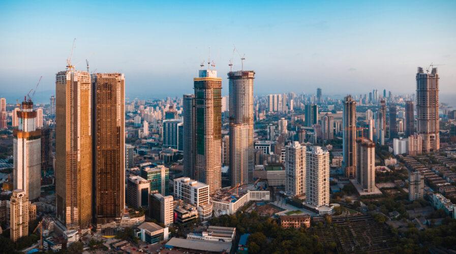 The South Mumbai skyline.