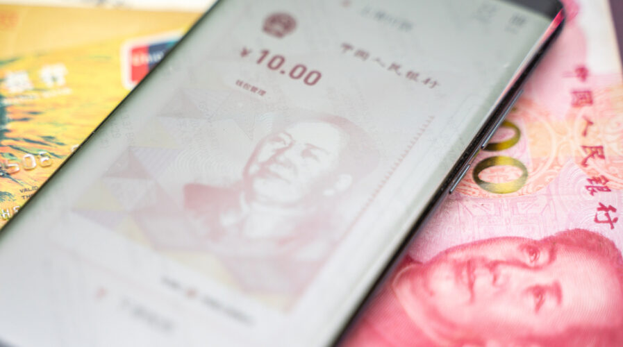 China started pilot testing its own CBDC, or, Digital Yuan, in several cities early this year.