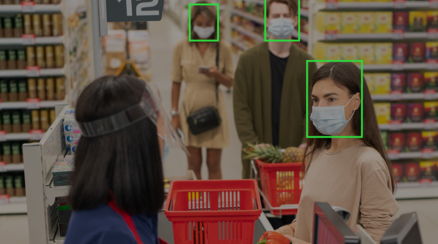 Wearing a mask may not hinder this new facial recognition system from scanning your face.